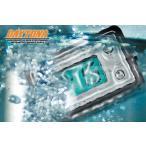 DAYTONA デイトナ 防水 コンパクトクロック ELバックライト付き ホンダ スーパーカブ110プロ