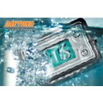 DAYTONA デイトナ 防水 コンパクトクロック ELバックライト付き ホンダ スーパーカブ70・デラックス