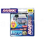 RZ250RR RAYBRIC レイブリック ハイパーハロゲン ヘッドライトバルブ H4 3200K 12V 60/55W H4 SPORTS series 車検対応 (RB49)