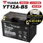 レビューで特典 1年保証付 ユアサバッテリー スカイウェイブ250 タイプS/BA-CJ44A用 バッテリー YT12A-BS