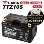 レビューで特典 1年保証付 ユアサバッテリー MAXAM マグザム CP250/JBK-SG21J用 YUASAバッテリー TTZ10S 10S