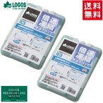 Yahoo!アイネットお買い得2個セット LOGOS/ロゴス 倍速凍結・氷点下パックM (81660642) 保冷剤 冷凍保存 長時間 最強
