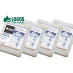 Yahoo!アイネットお買い得4セット LOGOS/ロゴス 氷点下パックGT-16℃・ハード1200g (81660611) 保冷剤 冷凍保存 長時間 最強