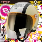 送料無料 DAMMTRAX(ダムトラックス) ダムキッズ ポポエイト popo8 ブラック/黒 バイク用 子供用 ヘルメット(ポポ8)(キッズ用)(ジェットヘルメット)