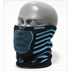 ナルー X9 ブルー スポーツ用フェイスマスク 日焼け予防 UVカット
