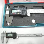 150mm デジタルノギス mm/inch切替 高性能 測量用品 専用ケース付 〓 デジタルノギス