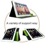 ショッピングiPad2 [GOKU] iPad 2/3/4 ケース 360度回転 スタンド機能付け 最軽量 薄型 レザーカバー 傷つけ防止 iPad 2/3/4専用ケース (ipad 2/3/4, グリーン)