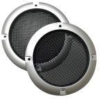スピーカー グリル カバー コアキシャルスピーカー セパレートスピーカー 汎用タイプ 左右2個セット(5インチ(外径153mm))