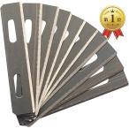 革削ぎ スーパースカイバー レザークラフト 革漉き 工具 a877(替刃10枚) ブランド登録なし