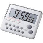 CUSTOM タイマー 〜9時間99分59秒 マグネット内蔵 時計表示機能つき[899]