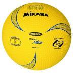 MIKASA ハンドボール ソフトハンドボール ディンプル 軽量球140g 小学校用 HRVN1-Y [黄(Y)][1号]
