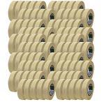 ショッピングマスキングテープ マスキングテープ No.720 12mm×18m 100巻入り 養生テープ [ベージュ] [J7510] [日東電工]