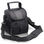 FOSOTO 防水 一眼レフ カメラバッグ かばん ショルダー 防水 メンズ レディース ナイロン ブラック