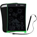 電子メモパッド 電子メモ帳 デジタルペーパー 付属品:保護カバー ストラップ[BR9001](緑色)