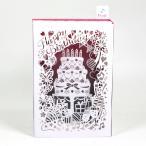 バースデーカード メロディカード レーザーカットケーキ P102 サンリオ 立てて飾れる誕生日カード 立体カード Birthday Card お誕生お