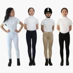 四色ジュニア用 乗馬キュロット(ブラック、ベージュ、ホワイト、ネイビー) 子供用 Jr.用 キッズ 乗馬用キュロット ズボン 乗馬用品
