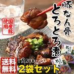送料無料 九州こだわりの絶品グルメ 豚なん骨のとろとろ煮 200g×2セット