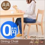 como コモ ダイニングチェア(2脚セット) HOC-331 チェア 椅子 木製 ダイニング 布張 北欧 家具 インテリア ナチュラル 天然木 子供 お年寄り 新生活