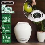 BALMUDA バルミューダ Rain レイン ERN-1000UA-WK 加湿器 大容量 タンクレス 空気清浄器 加湿機 気化式 気化式加湿器 おしゃれ グリーンファン フィルター