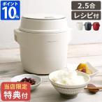 レコルト コンパクトライスクッカー RCR-1 炊飯器 レシピ付き recolte 低温調理 発酵