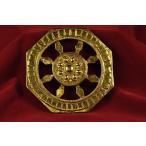 法輪(輪宝) 銅造鍍金仕上げ