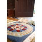 マンダラ絨毯「法輪」