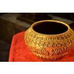 金銅鉢 銅造打ち出し鍍金仕上げ