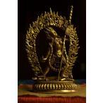 ダーキニー(荼吉尼天)銅造鍍金彫金仕上げ