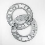 ホイールスペーサー 5mm 2枚入 PCD100 PCD114.3 4穴 5穴 HKB HKWS5