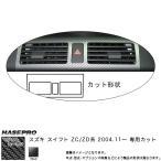 HASEPRO/ハセプロ:マジカルカーボン スイフト ZC/ZD インナーパネル(標準装備オーディオ付用) ブラック スズキ/CIPSZ-1