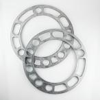 ホイールスペーサー シルバー 5mm PCD139.7 5H/6H 4WD車【2枚セット】 HKB SPORTS/東栄産業