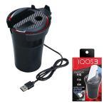 IQOS3 充電ステーション アイコス3 灰皿&充電器 吸殻入れ 車載 ブラック 電子タバコ セイワ WA17