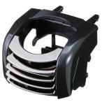 ナポレックス:ドリンクホルダー メタルブラック エアコンルーバー用/FIZZ-872/