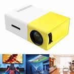 ミニプロジェクター ホームシネマ スライド映写機 スクリーン投影 HD480x320 解像度 HD1080P USB/ SD/ AV/ HDMI
