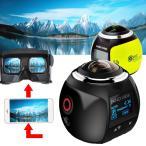 3D・VR用 4k ライディング ワイヤレス360度 パノラマカメラ フルHD撮影  XDV360