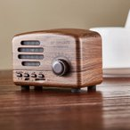 ヴィンテージ Bluetooth スピーカーワイヤレスポータブルミニスピーカー 【アウトレット】【30日保証】