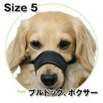 犬 しつけ メッシュマズル No.5