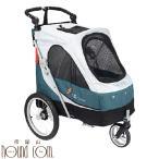 【お取り寄せ商品】ペットカート 大型 3輪バギー サファリ  30kgまで 小型〜大型犬用 ブルー