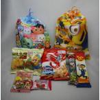 お菓子(駄菓子)6個入 キャラクター巾着袋