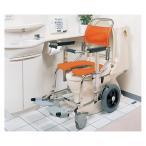 シャワーキャリー AG-LPG (前輪樹脂) No.5822 睦三 [介護用品 浴室/浴槽 入浴補助 車椅子]【商品代引不可】