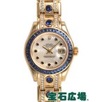 ショッピングロレックス ロレックス ROLEX デイトジャスト パールマスター 80308NGS 中古 レディース 腕時計