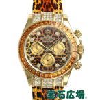 ロレックス ROLEX デイトナ レパード 116598SACO 中古 メンズ 腕時計