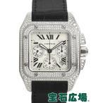 カルティエ CARTIER サントス100 クロノ WM500651 中古  メンズ 腕時計