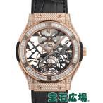 ウブロ クラシックフュージョン クラシコスケルトントゥールビヨンダイヤモンド 505.OX.0180.LR.0904 新品 メンズ 腕時計
