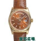 ショッピングロレックス ロレックス ROLEX デイデイト 118138 新品 メンズ 腕時計