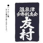 剣道 垂ゼッケン ハリロン製 テトロン生地 【ネコポス対応】