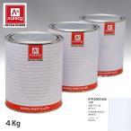 関西ペイント PG80 調色 スバル 11P カサブランカホワイト 4kg(原液)