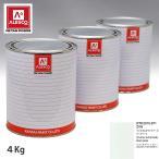 関西ペイント PG80 調色 スズキ ZVH クリスタルホワイトパール 原液カラーベース4kg 原液パールベース4kg セット(3コート)
