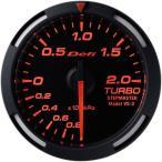 送料無料 デフィ Defi レーサーゲージ (Racer Gauge) Φ52 レッド ターボ計 -100kPa〜+200kPa DF06505
