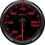 送料無料 デフィ Defi レーサーゲージ (Racer Gauge) Φ60 レッド 温度計 (油温計・水温計) 30〜150℃ DF11705